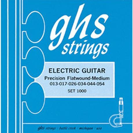 GHS ELECTRIC GUITAR STRINGS FLTWND 1