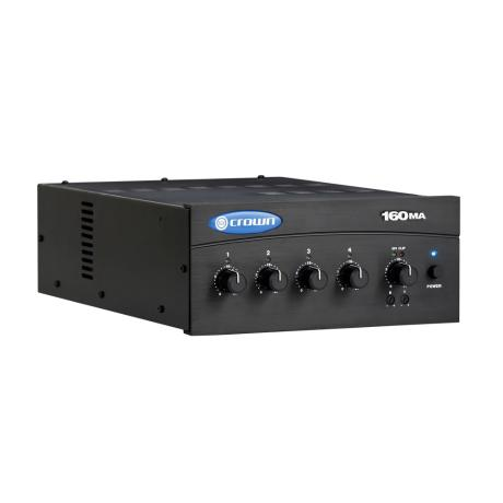 CROWN MIXER AMPLIFIER 4 INPUTS 60W 8Ω/100V 1 ZONE 1