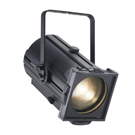 STRAND LED THEATRE FRESNEL FIXTURE  3100°K CRI96 (7°-50°) WITH 175MM LENS WITH A CHIP PHILIPS LUXEON REBEL ,80W 1