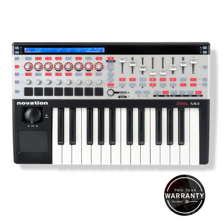 NOVATION USB MIDI CONTROLLER 2 OCTAVE 1