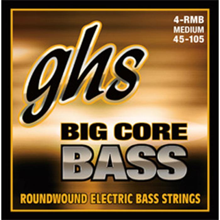 GHS BASS STRINGS ROUNDWOUND