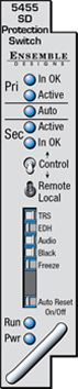 ENSEMBLE DESIGN Avenue SDI Protection Switch