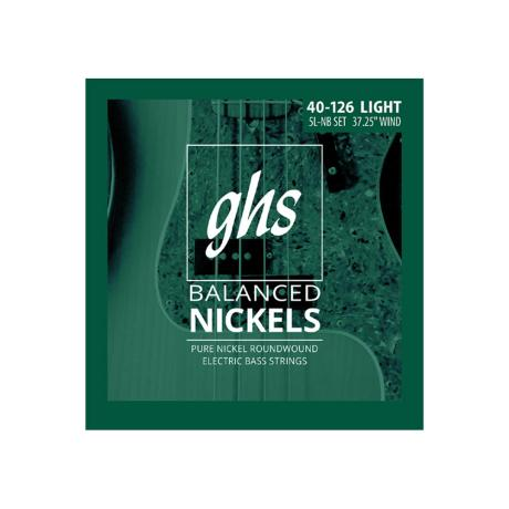 GHS BASS STRINGS BALANCED NICKELS LIGHT 5-STR 040 1