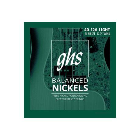 GHS BASS STRINGS PROGRESSIVES LIGHT 5-STR 040-126 1