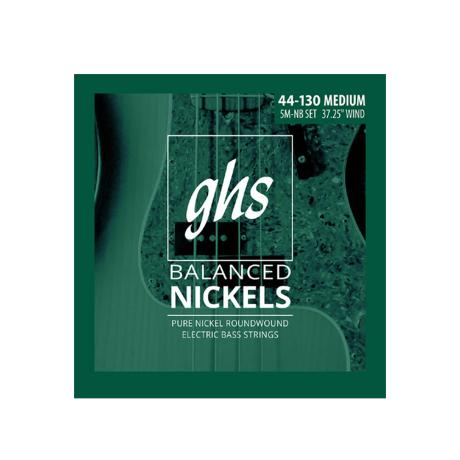 GHS BASS STRINGS BALANCED NICKELS MEDIUM 5-STR 4 1