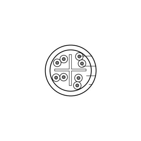 BELDEN CAT6 U/UTP CABLE OUTDOOR