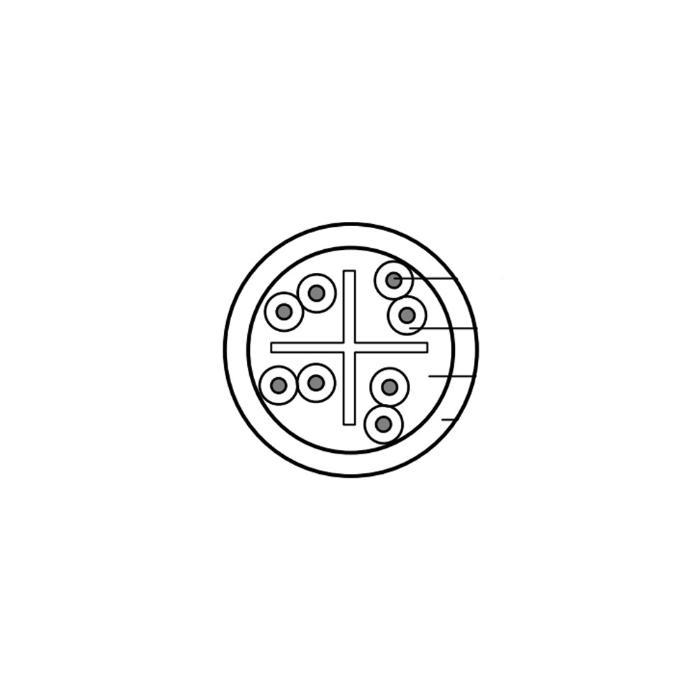 BELDEN CAT6 U/UTP CABLE OUTDOOR 1