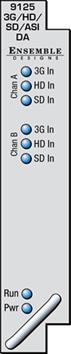 ENSEMBLE DESIGN AVENUE 3G / HD / SD / ASI DUAL RECLOCKING DISTRIB