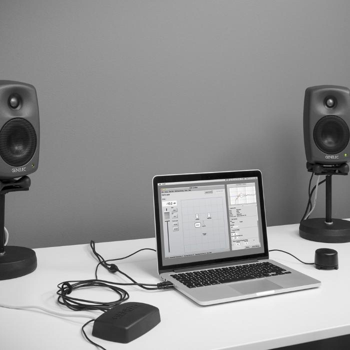 GENELEC VOLUME CONTROL FOR GLM V2.0 interface