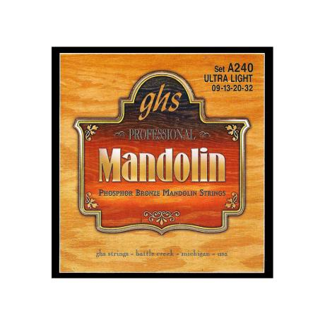 GHS ΣΕΤ ΧΟΡΔΕΣ PHOSPHOR BRONZE MANDOLIN 009-032 1