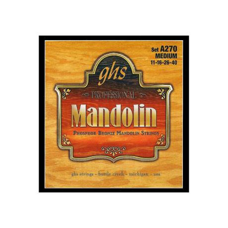 GHS ΣΕΤ ΧΟΡΔΕΣ PHOSPHOR BRONZE MANDOLIN 011-040 1