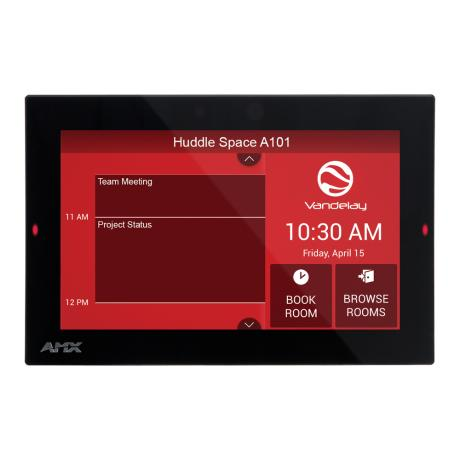 AMX 7'' ACENDO BOOK SCHEDULING TOUCH PANEL 1
