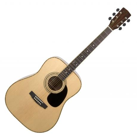 CORT ACOUSTIC GUITAR AD880 DREADNOUGHT NATURAL SATIN