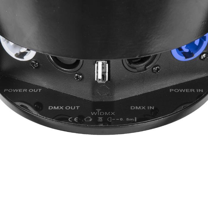 EUROLITE LED BATTERY QCL ΦΩΤΙΣΤΙΚΟ 6X4W RGBW+IR REMOTE 4