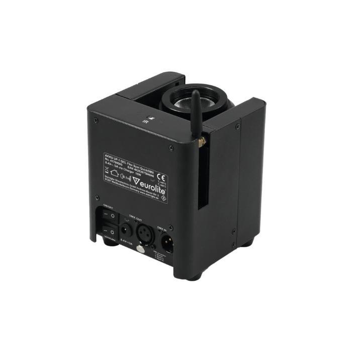 EUROLITE LED ΦΩΤΙΣΤΙΚΟ ΜΠΑΤΑΡΙΑΣ QCL 1X15 W &QUICKDMX TRANS 3