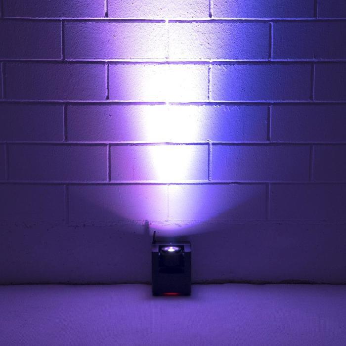 EUROLITE LED ΦΩΤΙΣΤΙΚΟ ΜΠΑΤΑΡΙΑΣ QCL 1X15 W &QUICKDMX TRANS 5