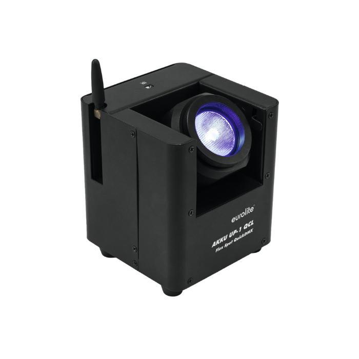 EUROLITE LED ΦΩΤΙΣΤΙΚΟ ΜΠΑΤΑΡΙΑΣ QCL 1X15 W &QUICKDMX TRANS 1