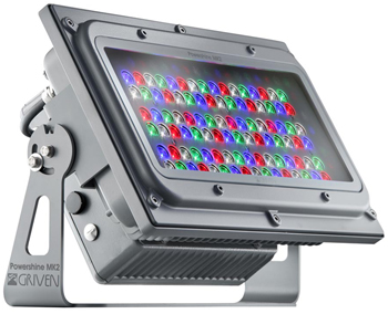 GRIVEN LED ΠΡΟΒΟΛΕΑΣ ΜΟΝΟΣ POWERSHINE D RGBW (A)