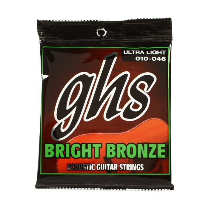 GHS ACOUSTIC GUITAR STRINGS 010-046 1