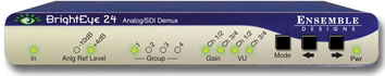 ENSEMBLE DESIGN BrightEye 24 SDI to Analog Converter and Disembedd