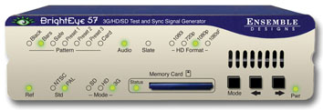 ENSEMBLE DESIGN BrightEye 57 3G/ HD/SD/Composite TSG and SPG