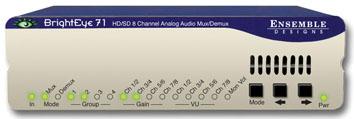 ENSEMBLE DESIGN BrightEye 71 HD/SD Analog Audio Embedder/Disembedd