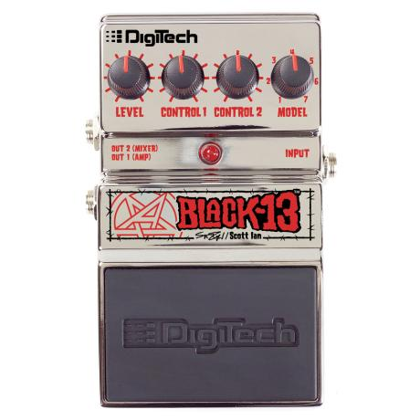 DIGITECH SCOTT IAN BLACK-13 PEDAL