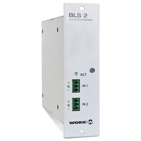 WORK MODULE WITH 2 X ETHERNET PORTS 1