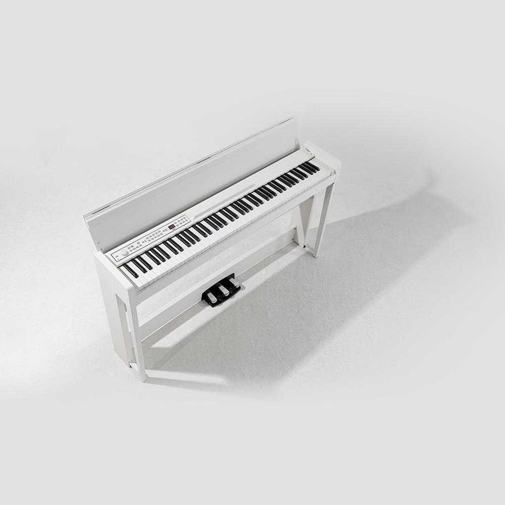 KORG DIGITAL PIANO 88 KEYS  WITH BLUETOOTH WHITE