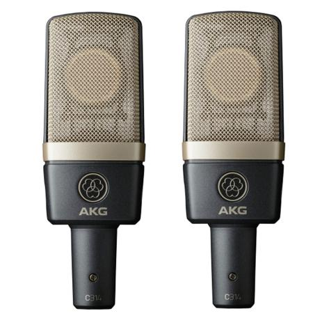 AKG MATCHED PAIR STEREO SET 1