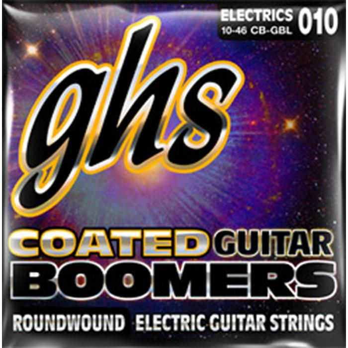 GHS ELECTRIC GUITAR STRINGS COATED BOOMER 1