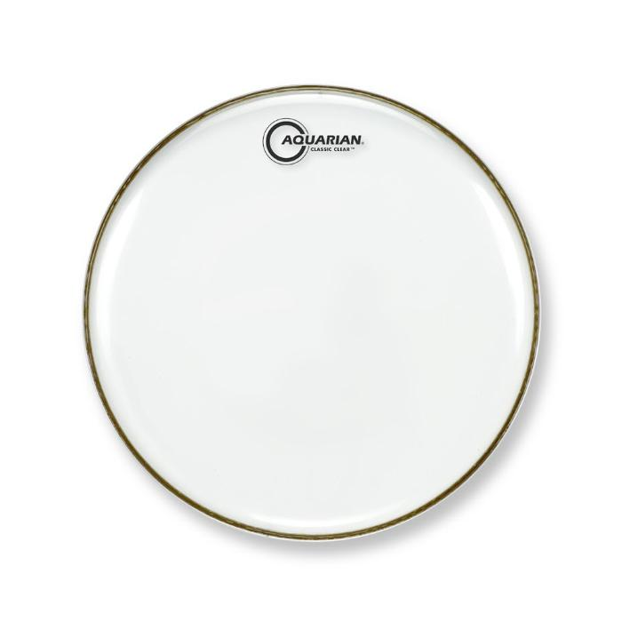 AQUARIAN 10'' CLASSIC CLEAR SNARE BOTTOM DRUMHEAD 1