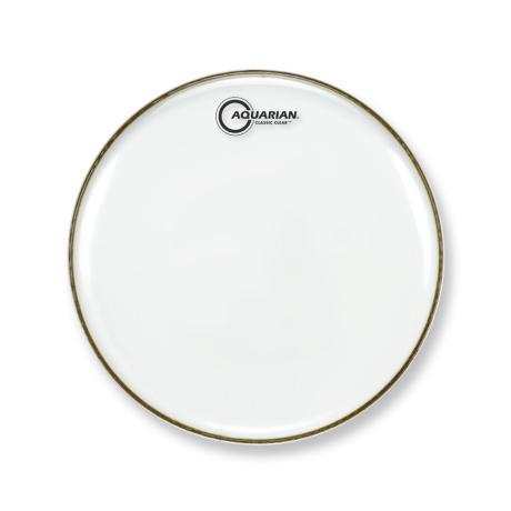 AQUARIAN 13'' CLASSIC CLEAR SNARE BOTTOM DRUMHEAD 1