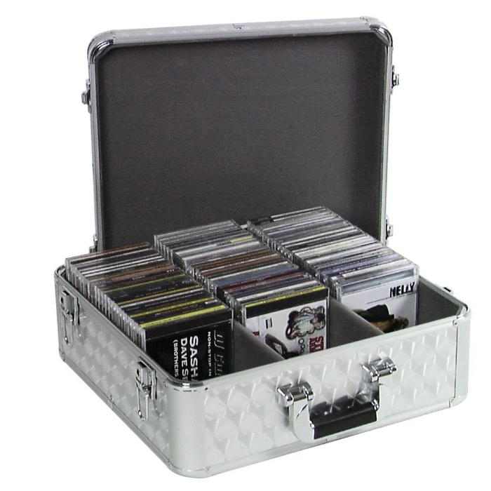 OMNITRONIC CARRYING CASE 100 CD-SILVER 2
