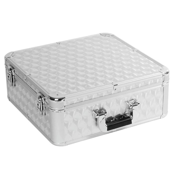 OMNITRONIC CARRYING CASE 100 CD-SILVER 1