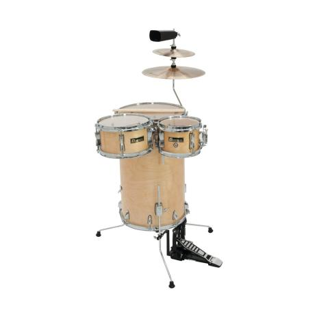 DIMAVERY COCKTAIL DRUM SET MAPLE
