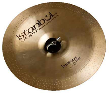 ISTANBUL CYMBAL CHINA 16' TRADITIONAL SERIES