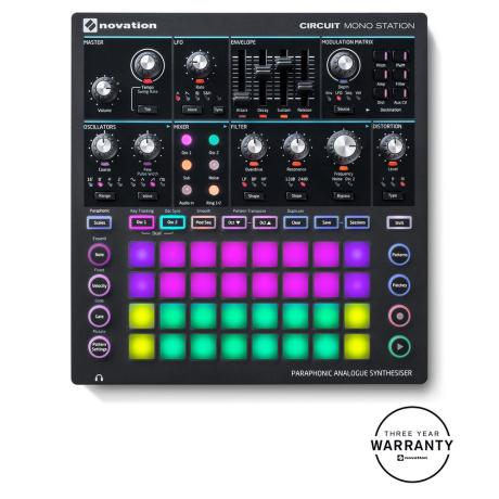 NOVATION PARAPHONIC  SYNTH MODULE