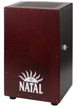 NATAL CAJON LARGE LOGO WHITE FRONT PANEL