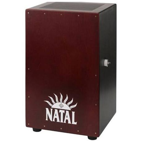 NATAL CAJON LARGE LOGO WHITE FRONT PANEL 1