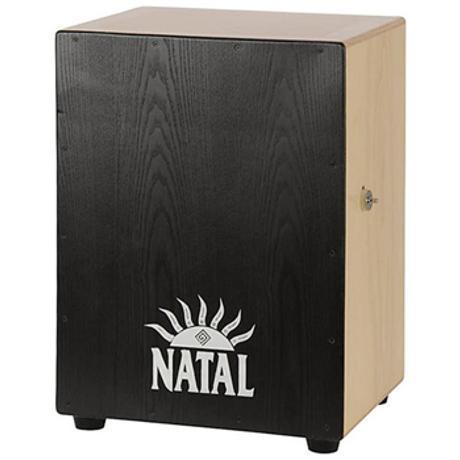 NATAL CAJON ANDANTE XL SNARE WIRES ASH BLACK 1