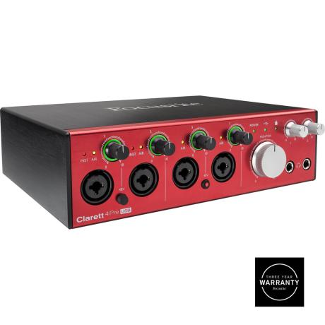 FOCUSRITE USB  AUDIO MIDI INTERFACE