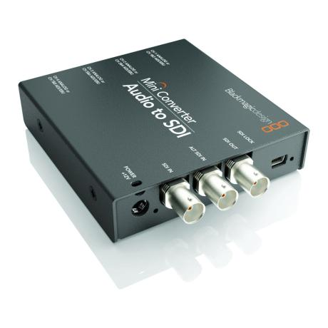 BLACKMAGIC DESIGN Mini Converter - Audio to SDI 2 1