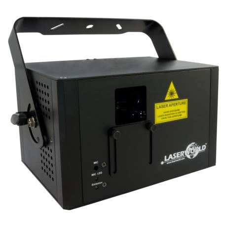 LASERWORLD FULL COLOR RGB LASER 1000mW With ILDA 1