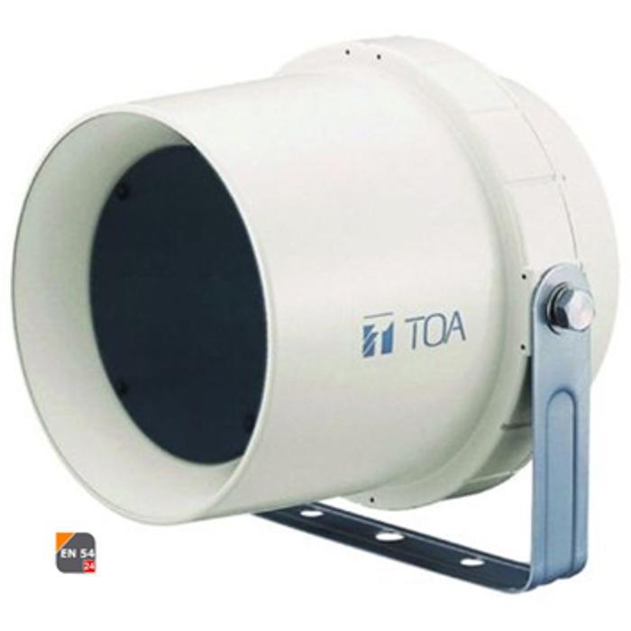 TOA HORN SPEAKER 70V/100V 6W/6W 5'' 96dB IP34 1