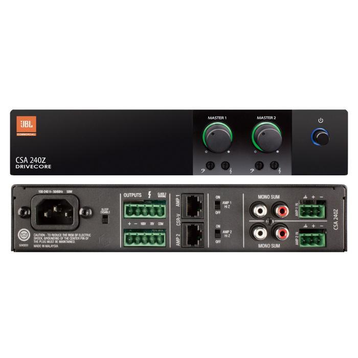 JBL POWER AMPLIFIER 2x40W/100V/4Ω 2