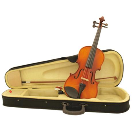 DIMAVERY VIOLIN 4/4 WITH BOW IN CASE 1