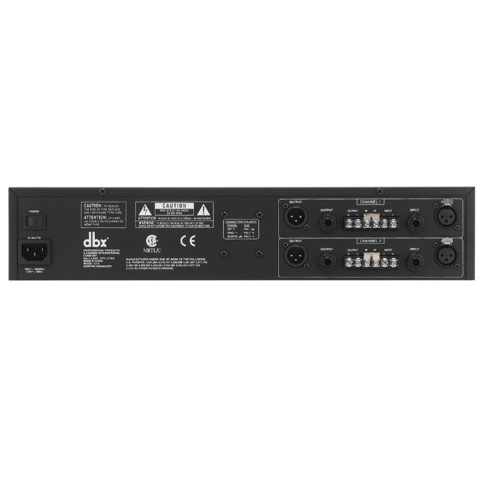 DBX 12 SERIES - DUAL 15 BAND GRAPHIC EQUALIZER 2