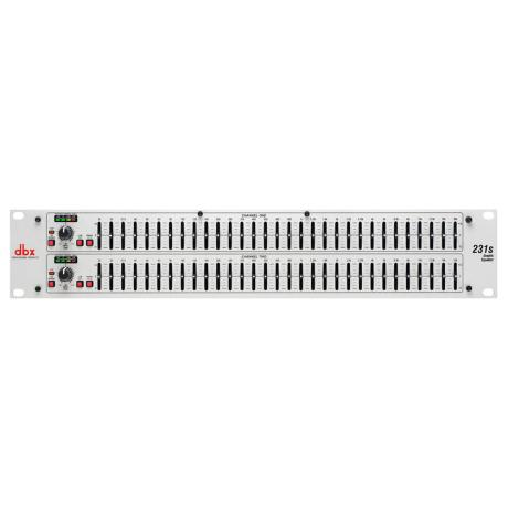 DBX 2 SERIES - DUAL 31 BAND GRAPHIC EQUALIZER 1