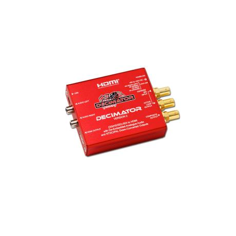 DECIMATOR DECIMATOR 2 3G/HD/SD-SDI to HDMI and PAL/NTSC 1
